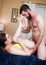 Jenna Creed is joined by King Epicleus and she can't wait to get her tight ass pounded hard by Epic's big dick! She sucks his cock and deept