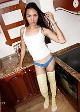 Ladyboy Uma - Bareback Entry Sticky Pop