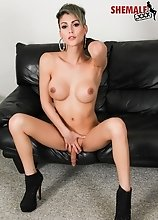 Domino Presley is one of the hottest shemale pornstars in the world!